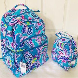 Vera Bradley  Essential  backpack lunchbox Waikiki
